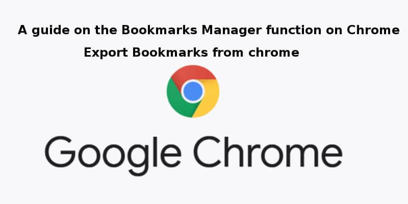How to Export Bookmarks from Chrome