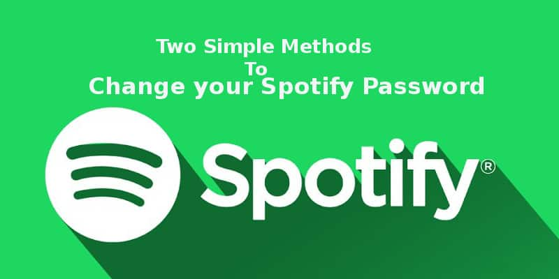 How to change your spotify password