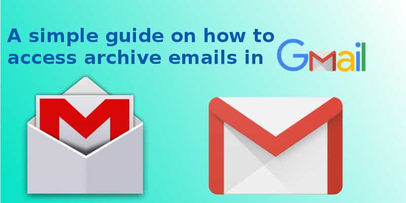 How to find archive emails in gmail