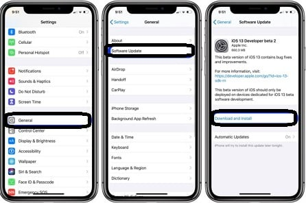 Update ios to latest version