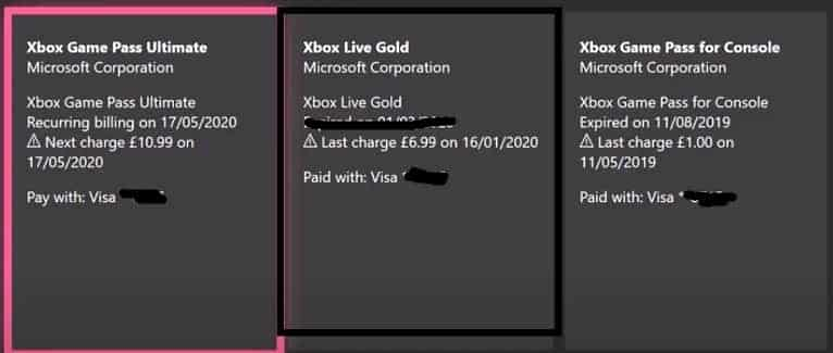 cancel xbox live gold