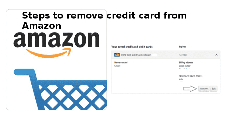 delete credit card from amazon website or mobile app