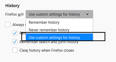 automatically clear cache and cookies on firefox