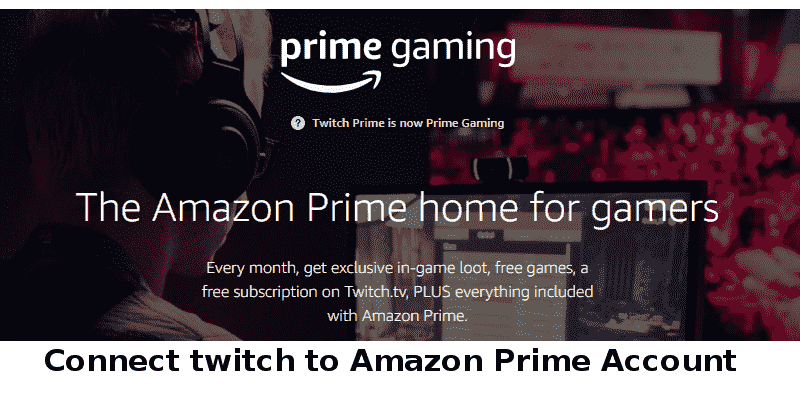connect twitch to amazon prime