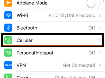 cellular option