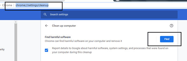 clean up harmful software