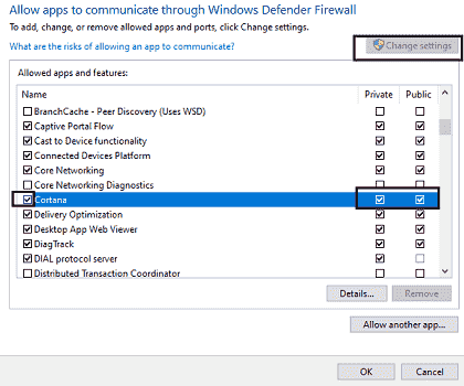 allow app through firewall