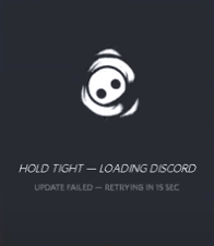fix discord keeps updating update failed