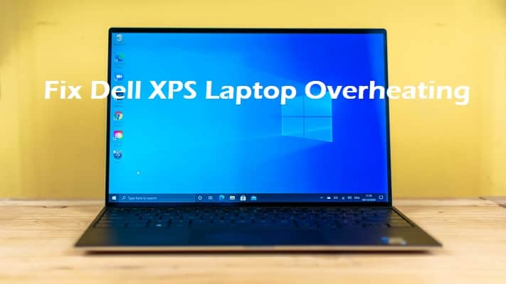 dell xps overheating
