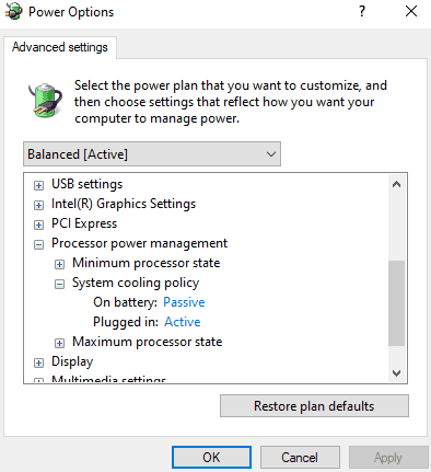 set plugged in status to active
